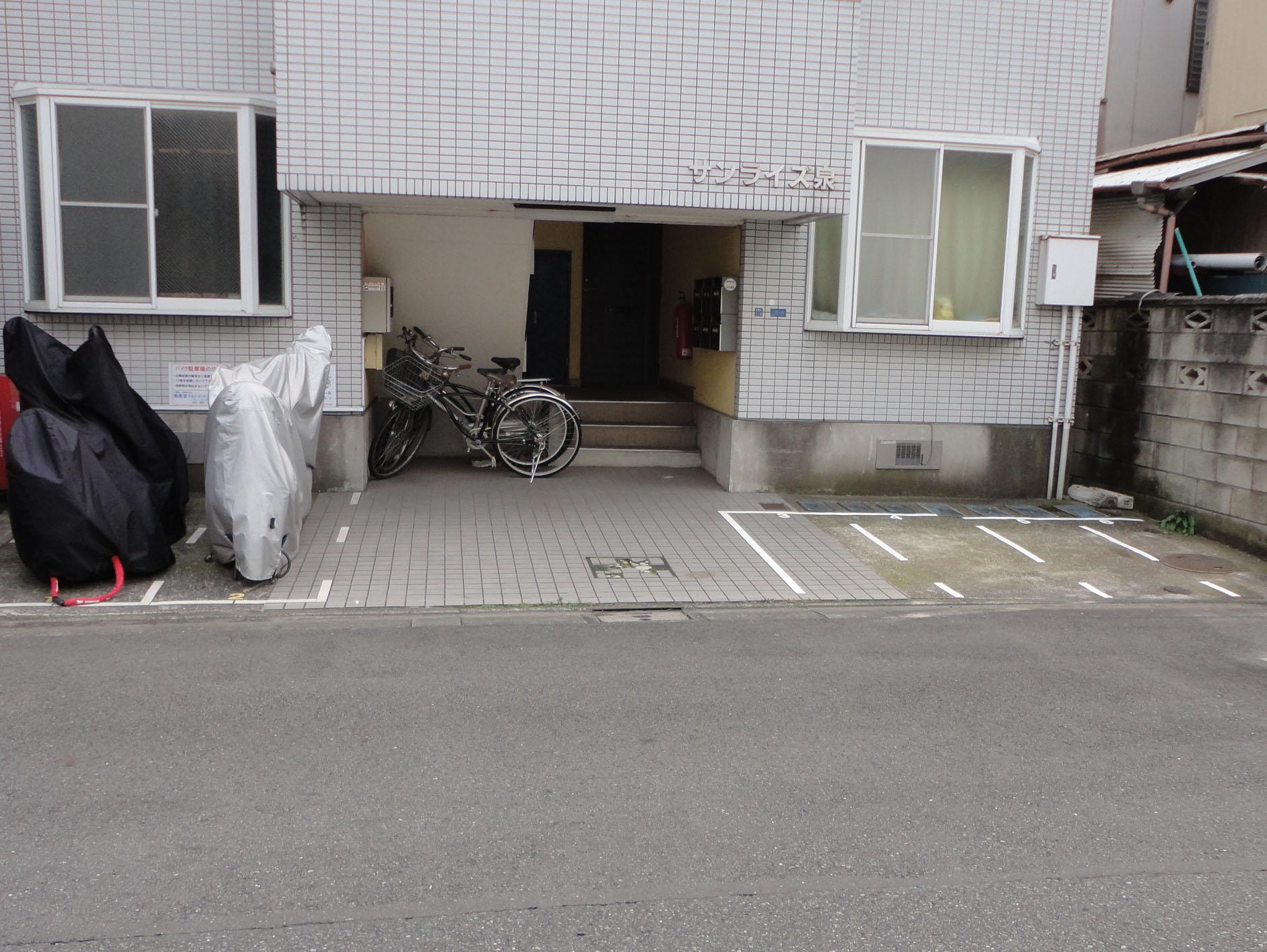 tmcバイク駐車場 葛飾西亀有の物件外観