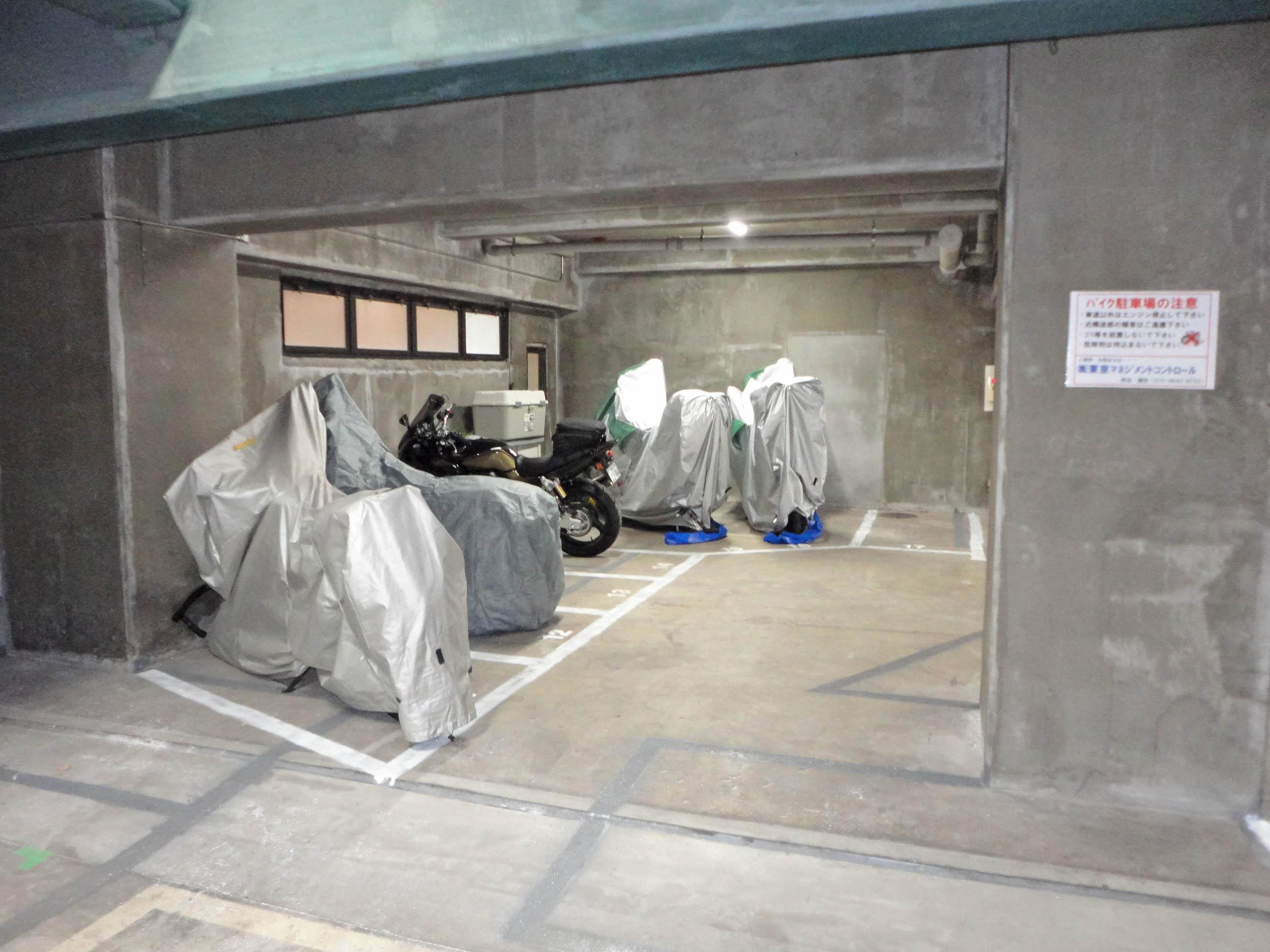 tmcバイク駐車場 北区王子神谷の物件外観