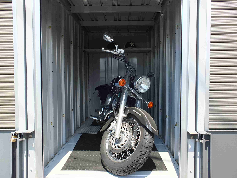 バイクストレージ北区吉野町の物件外観