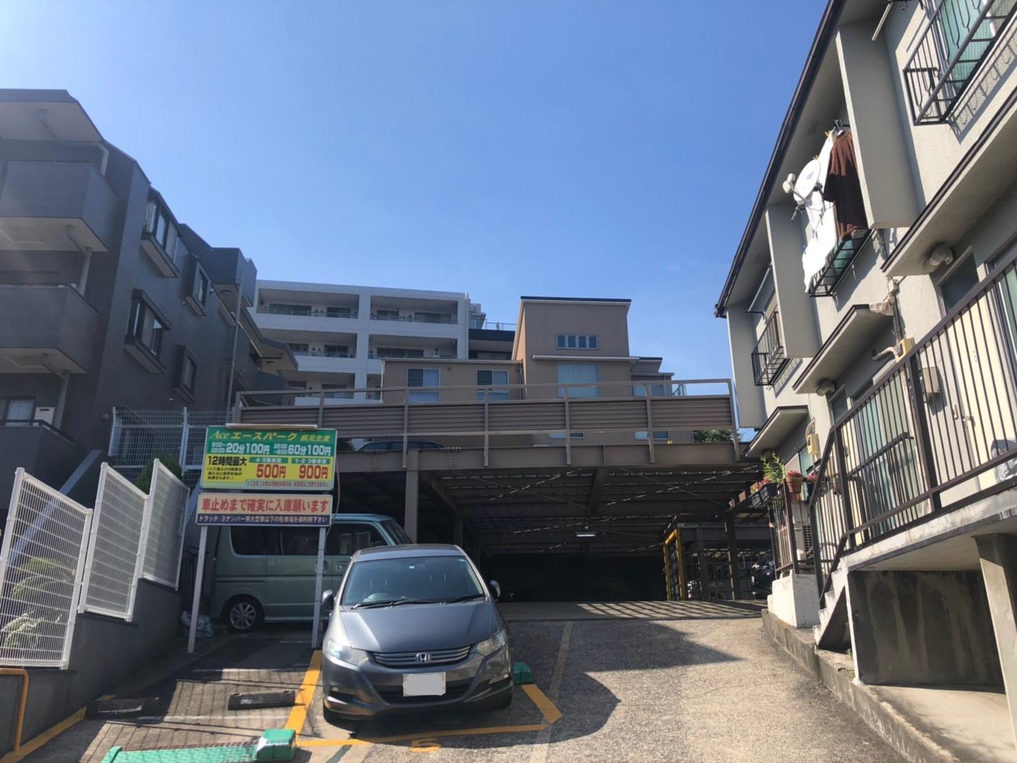バイクストレージ京急生麦外観5