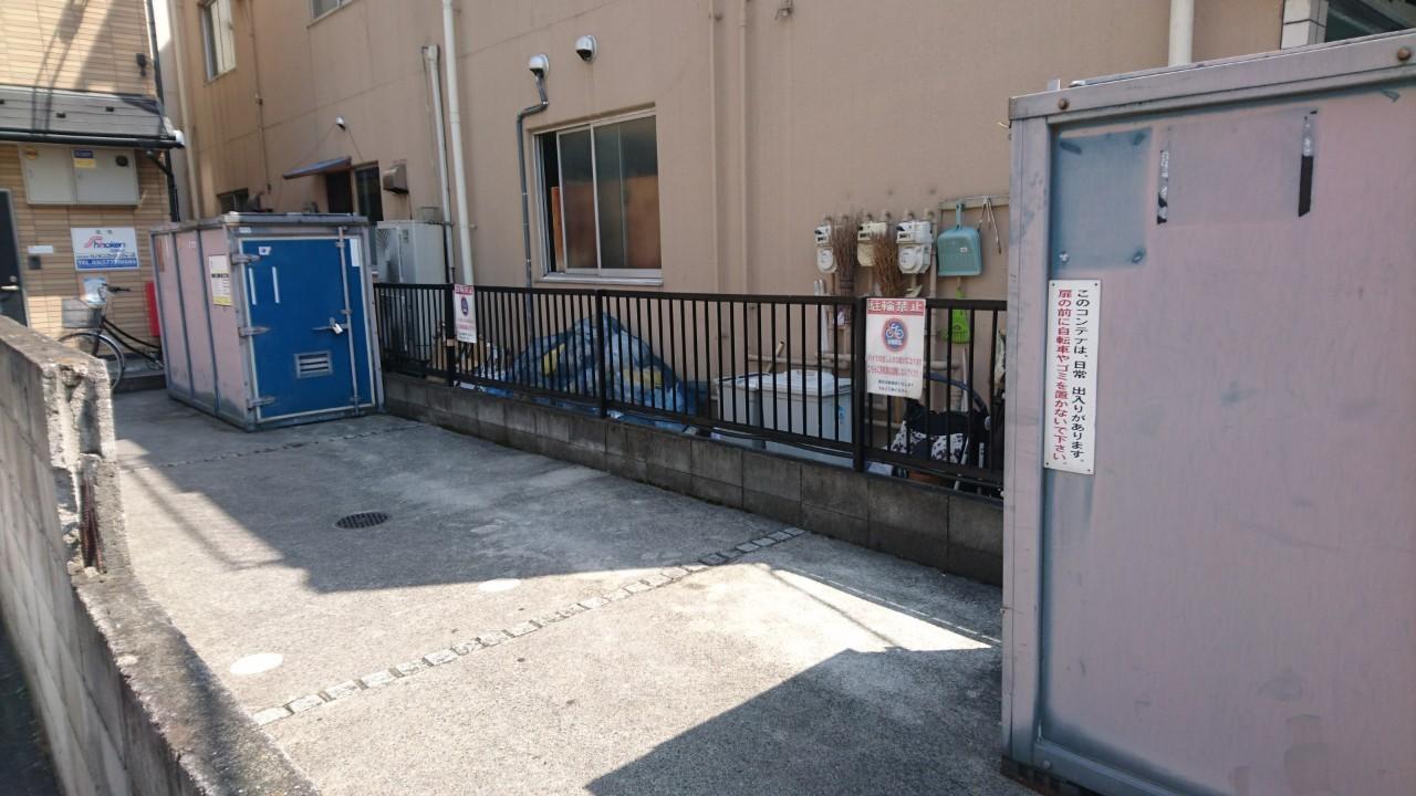 バイクストレージ東新宿外観2