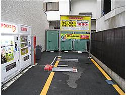 ユアスペース麻布十番-バイク駐車場外観1