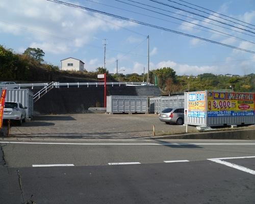 レンタルボックス田上外観1