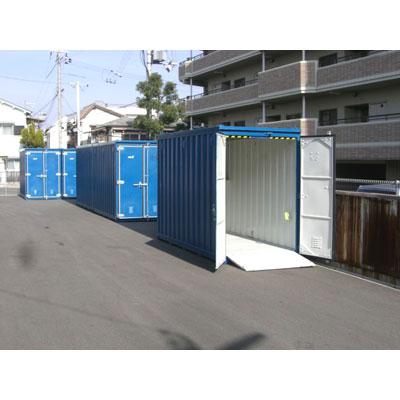 ハローストレージ江坂(バイクBOX)外観1