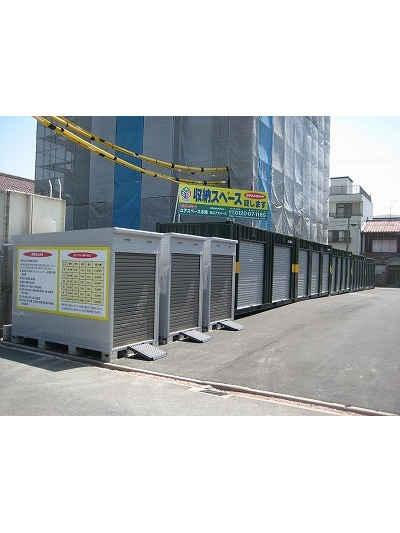 ユアスペース本陣-バイク駐車場