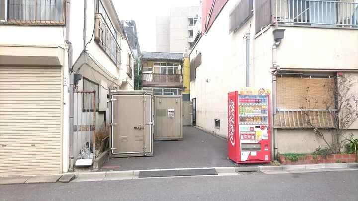 バイクストレージ台東区清川外観1