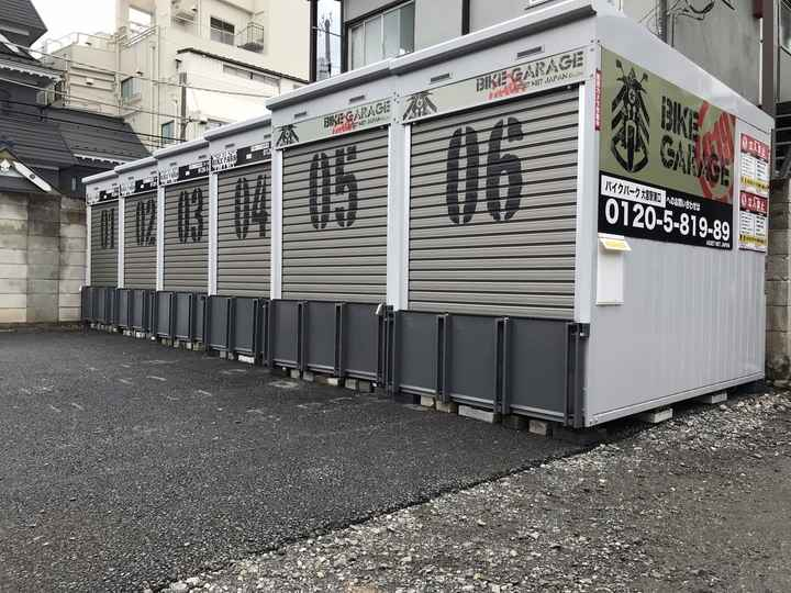 バイクストレージ大宮駅東口外観1