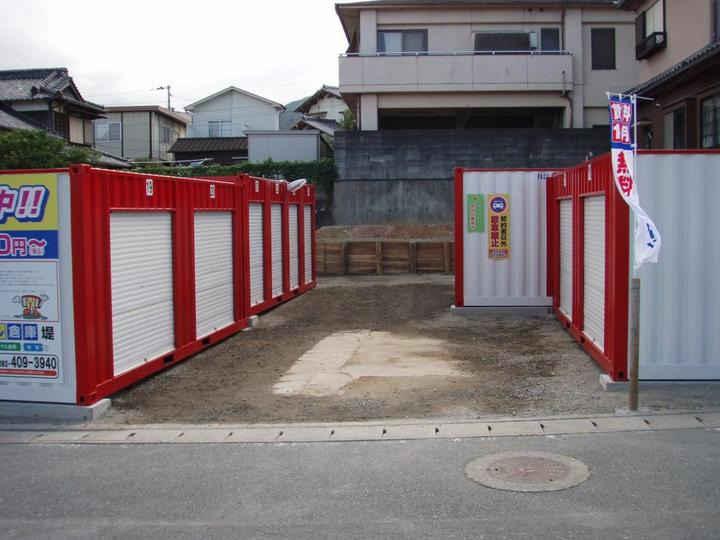 JRレンタル倉庫 堤外観1