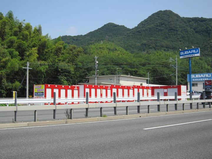 JRレンタル倉庫 新宮外観1