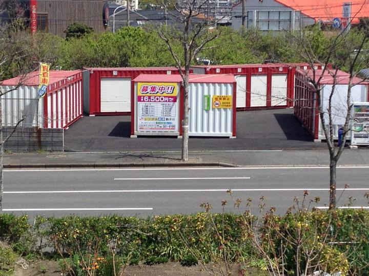 JRレンタル倉庫 割子川外観1