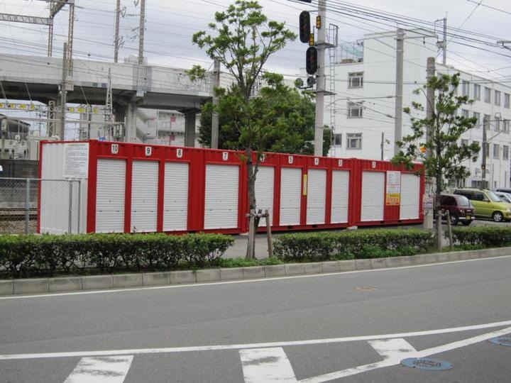 JRレンタル倉庫 竹下第2外観1