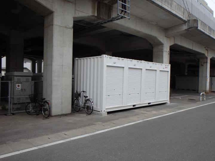 JRレンタル倉庫千早外観1