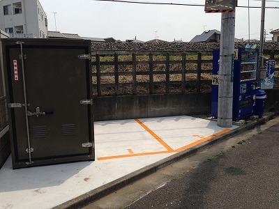バイクストレージ小手指駅北口外観2