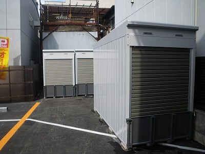 バイクストレージ墨田区東駒形外観1