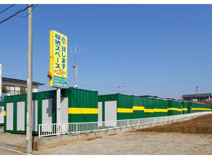 ユアスペース武石インターバイク駐車場外観1