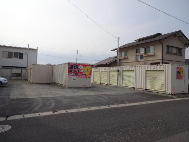 レンタル収納郡中丸木 亀田店外観1