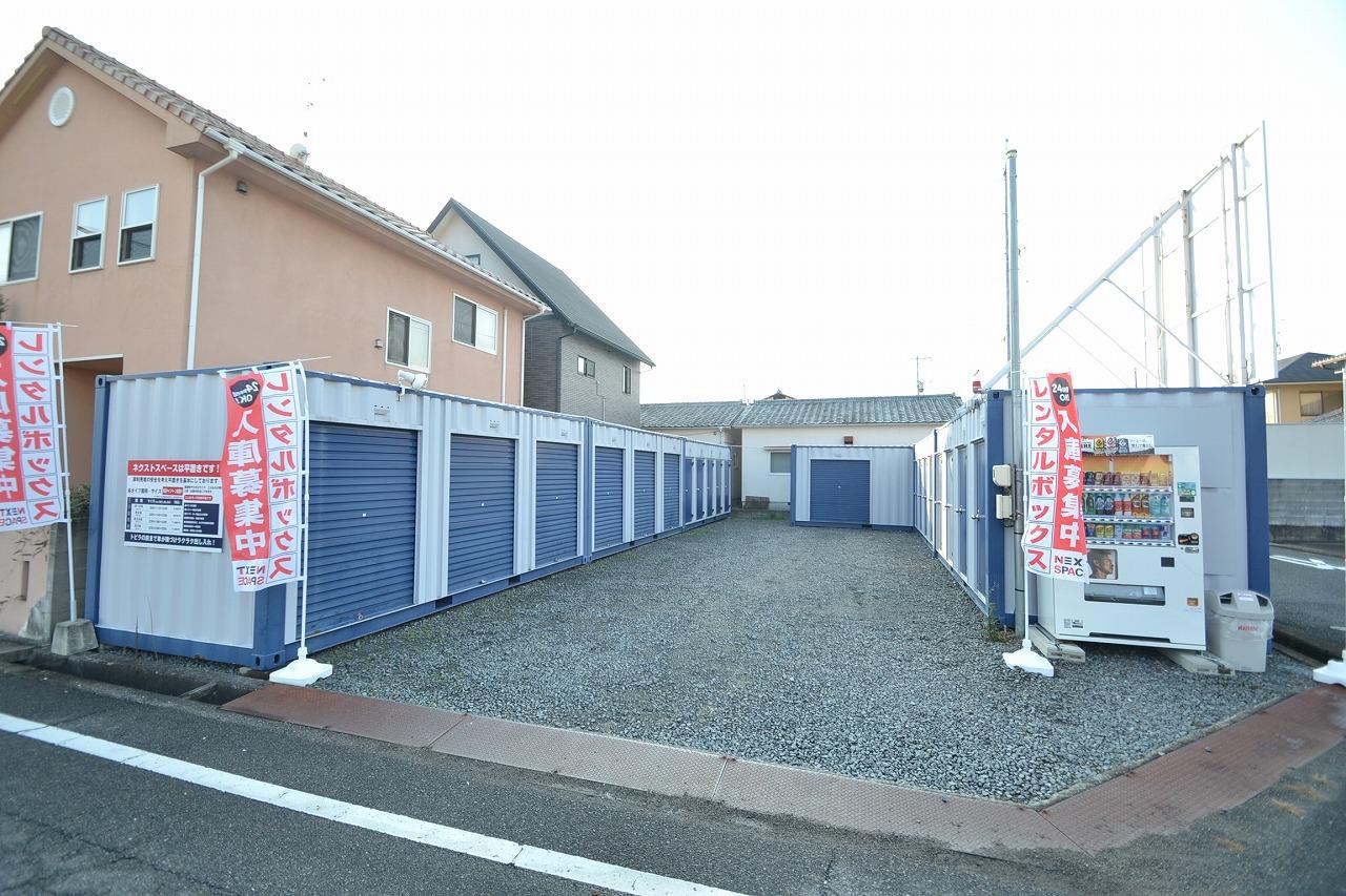 【初期費用0円】ネクストスペース大安寺外観1