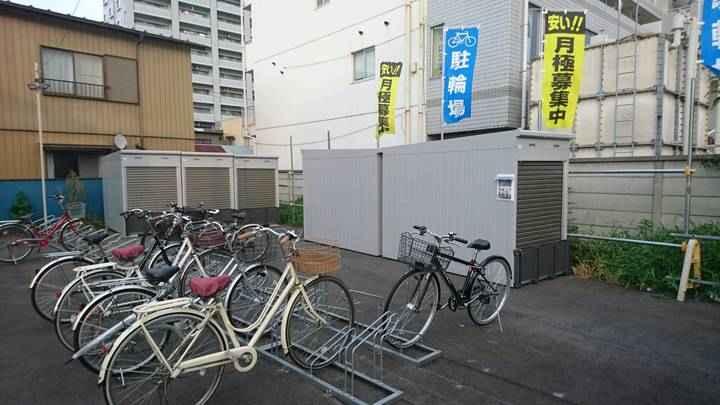 バイクストレージ桶川駅東口外観1