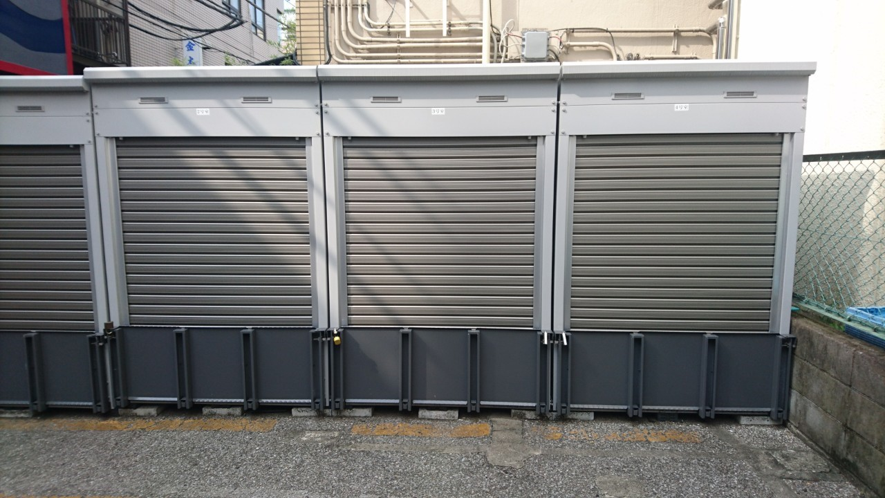 バイクストレージ浅草橋外観4