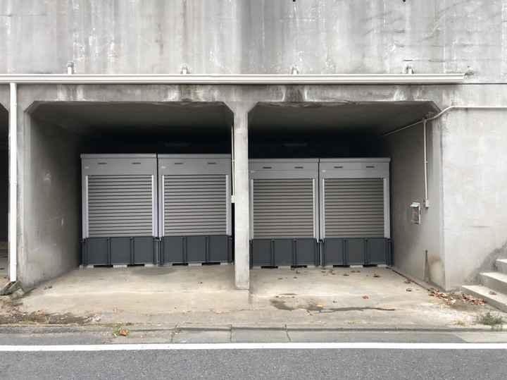 バイクストレージ別所沼公園外観1