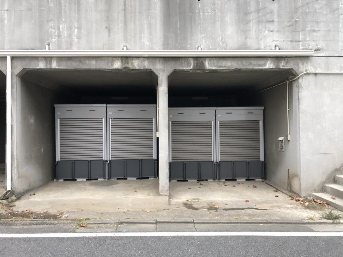 バイクストレージ別所沼公園外観4