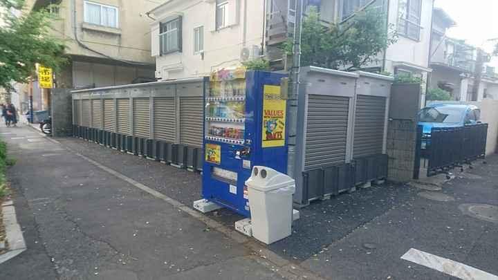 バイクストレージ世田谷区野沢外観1