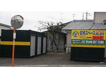 ユアスペース熊谷樋春-バイク駐車場外観1