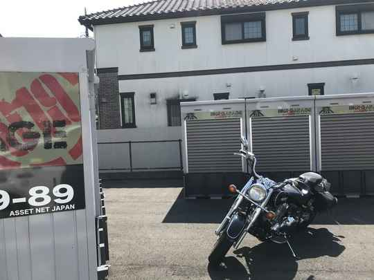 バイクストレージ練馬区西大泉P2外観1