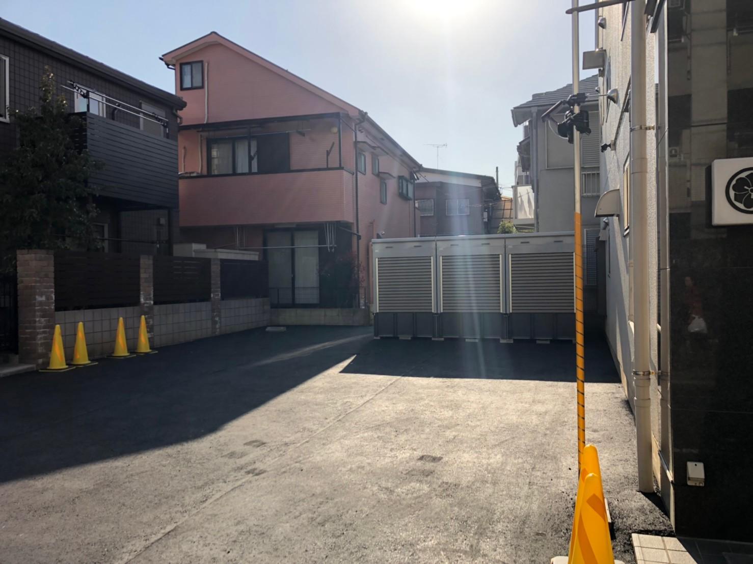バイクストレージ中野区上鷺宮外観4