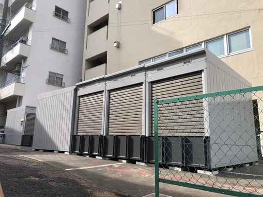 バイクストレージ西東京市田無町P2外観1