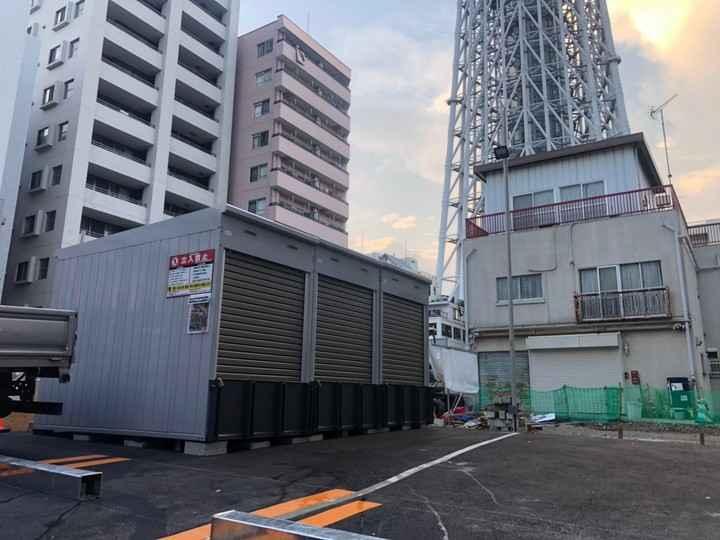 バイクストレージ墨田区業平P2外観1