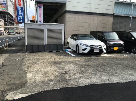バイクストレージ新座駅南口外観4
