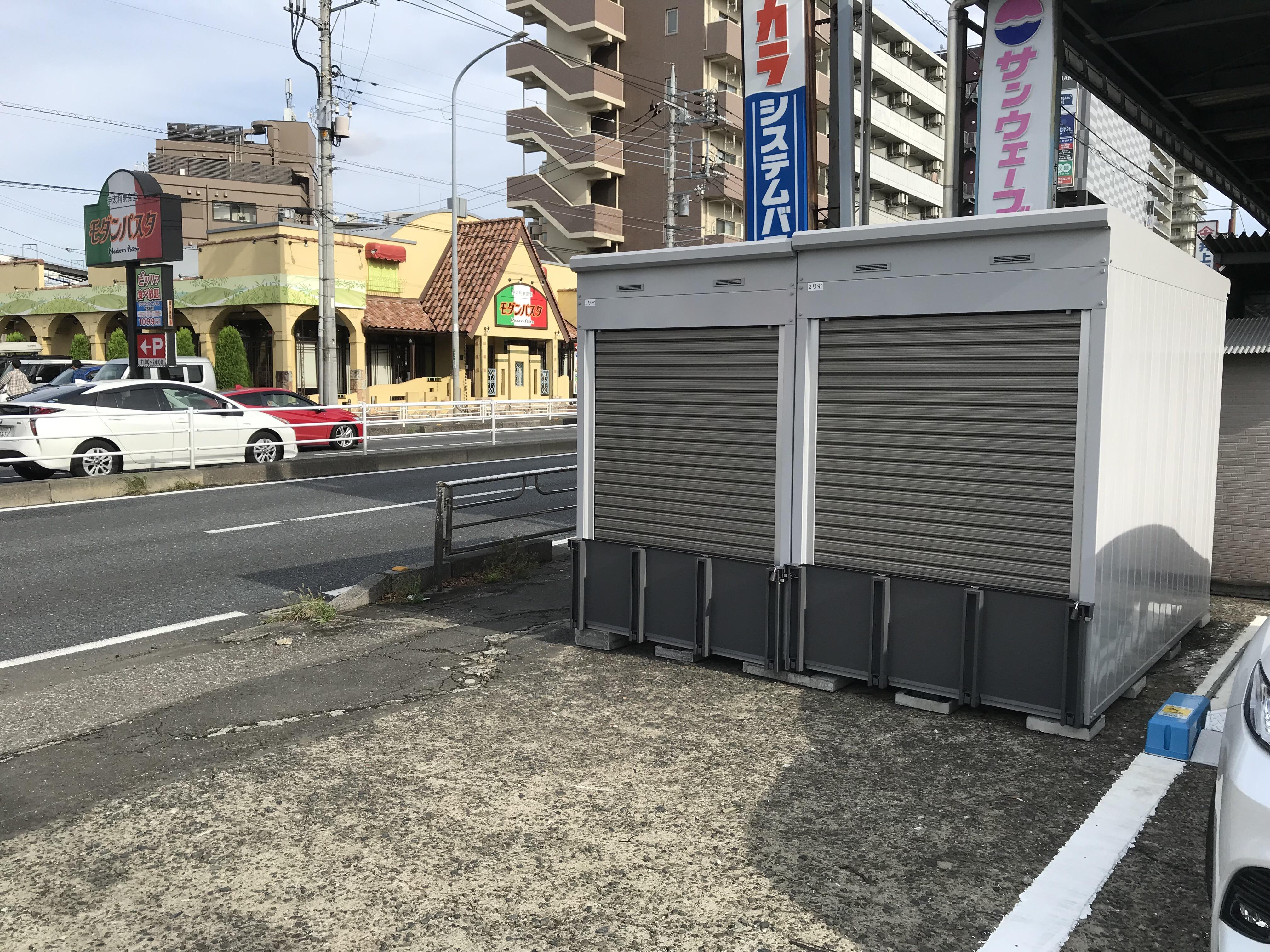 バイクストレージ新座駅南口外観5