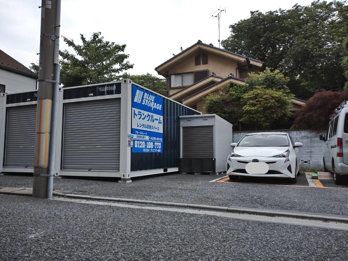 バイクストレージ石神井台P3外観4