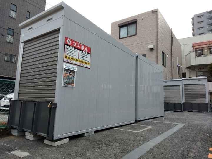 バイクストレージ本所吾妻橋外観1