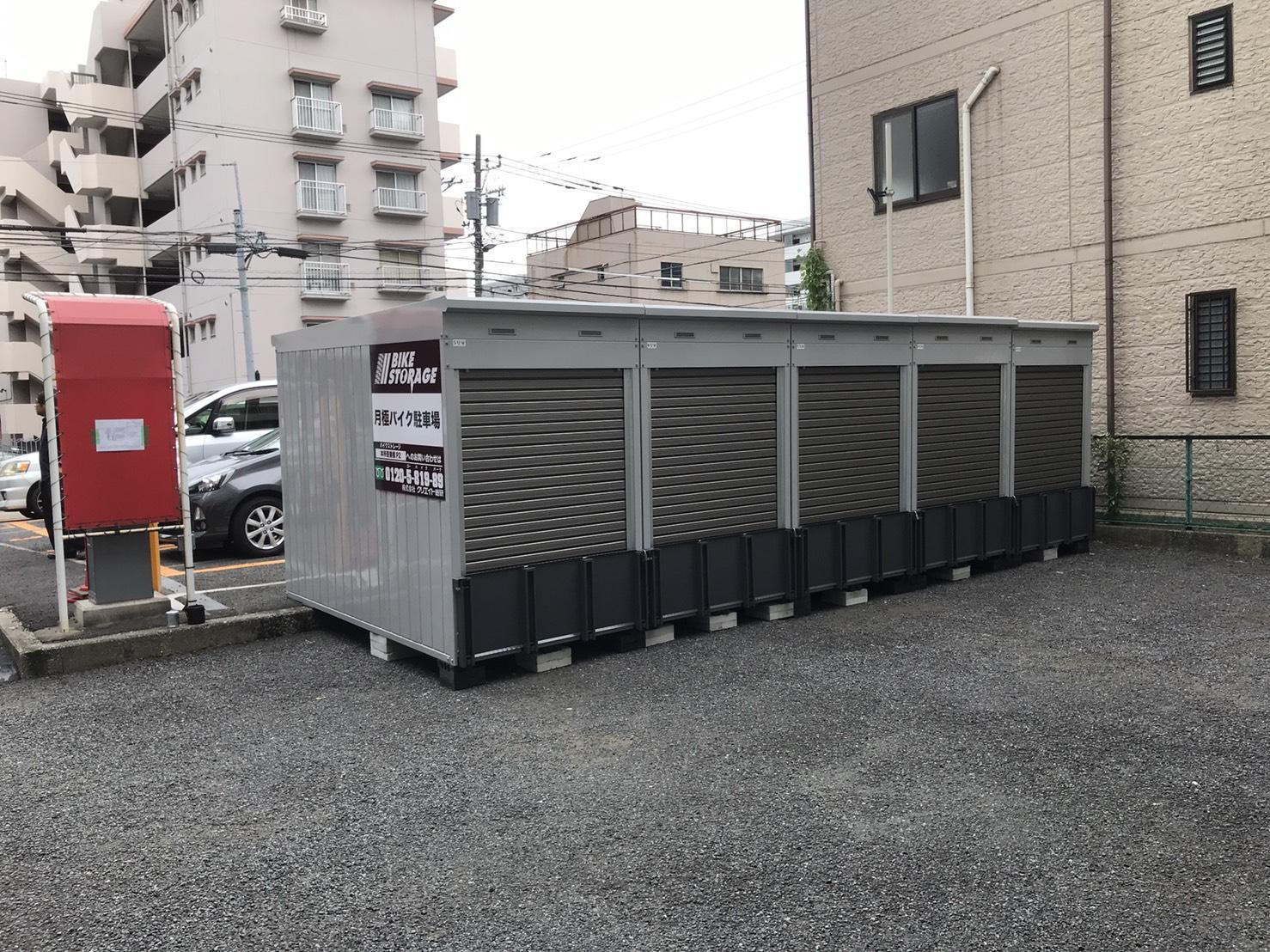 バイクストレージ本所吾妻橋P2