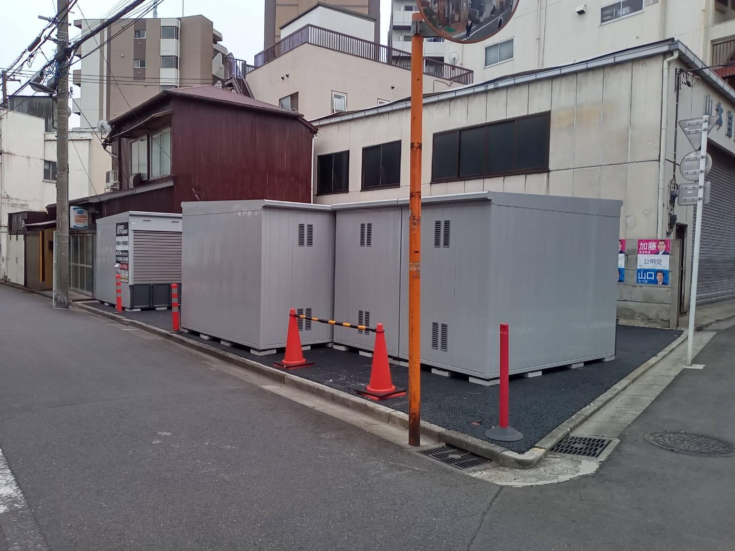 バイクストレージ墨田区東向島