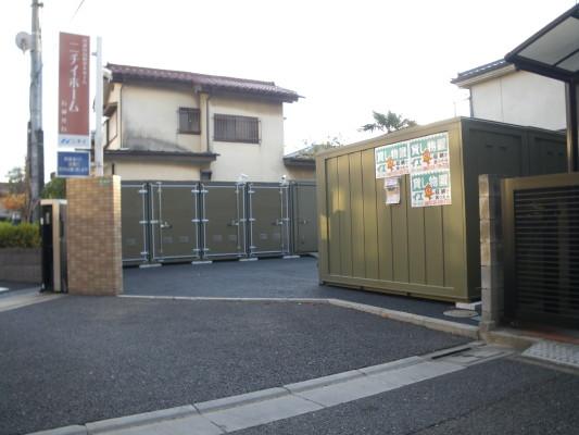 バイクストレージ練馬区石神井台