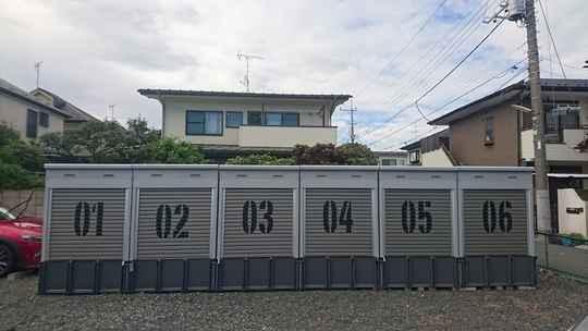 バイクストレージ石神井台P2