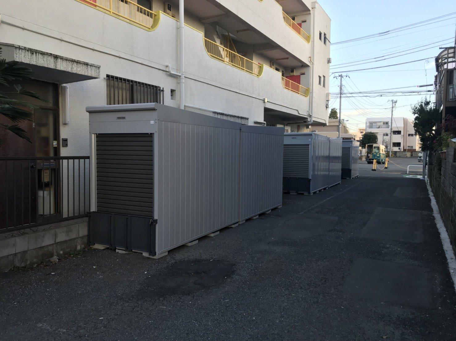 バイクストレージ練馬区旭丘
