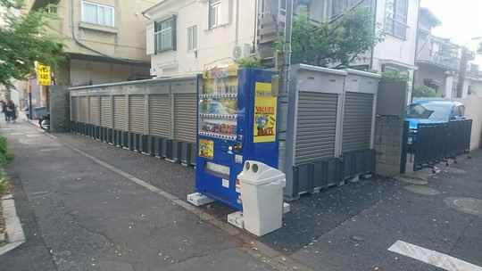 バイクストレージ世田谷区野沢