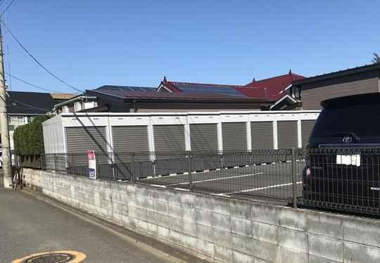 バイクストレージ練馬区南大泉P1