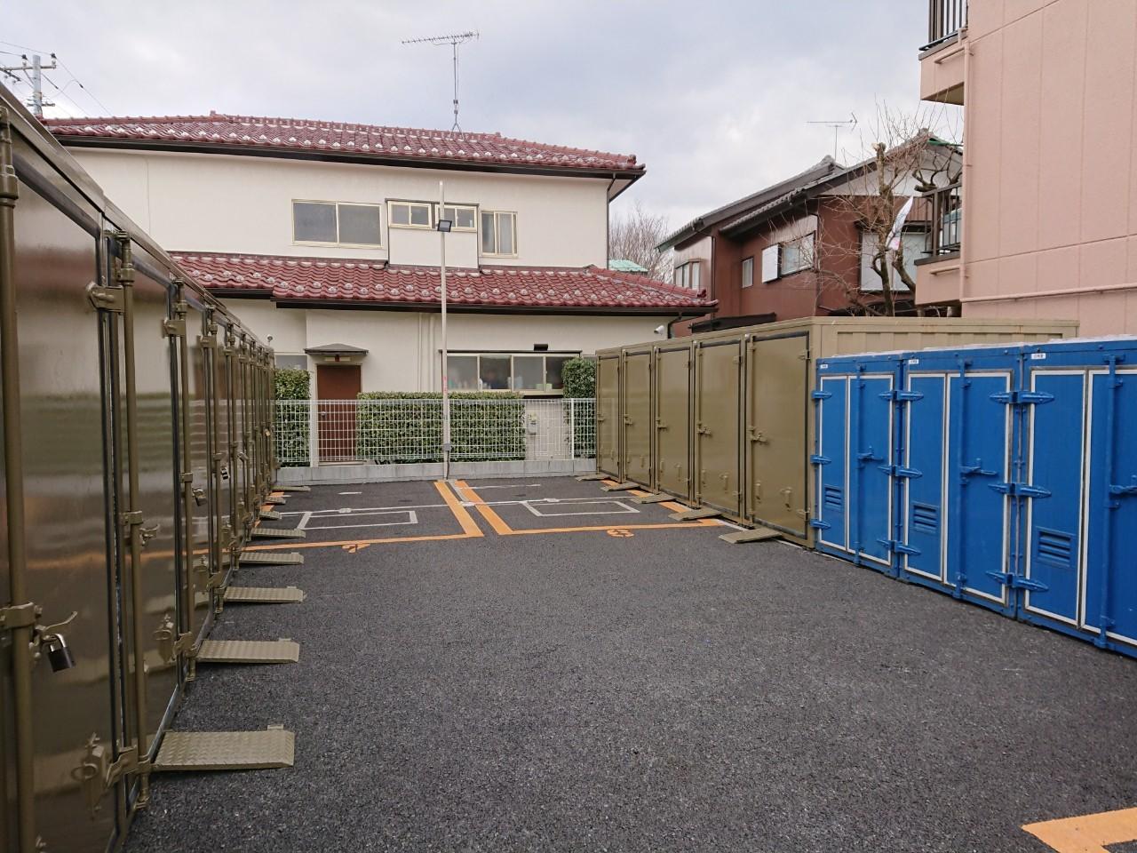 バイクストレージ国分寺市東恋ヶ窪