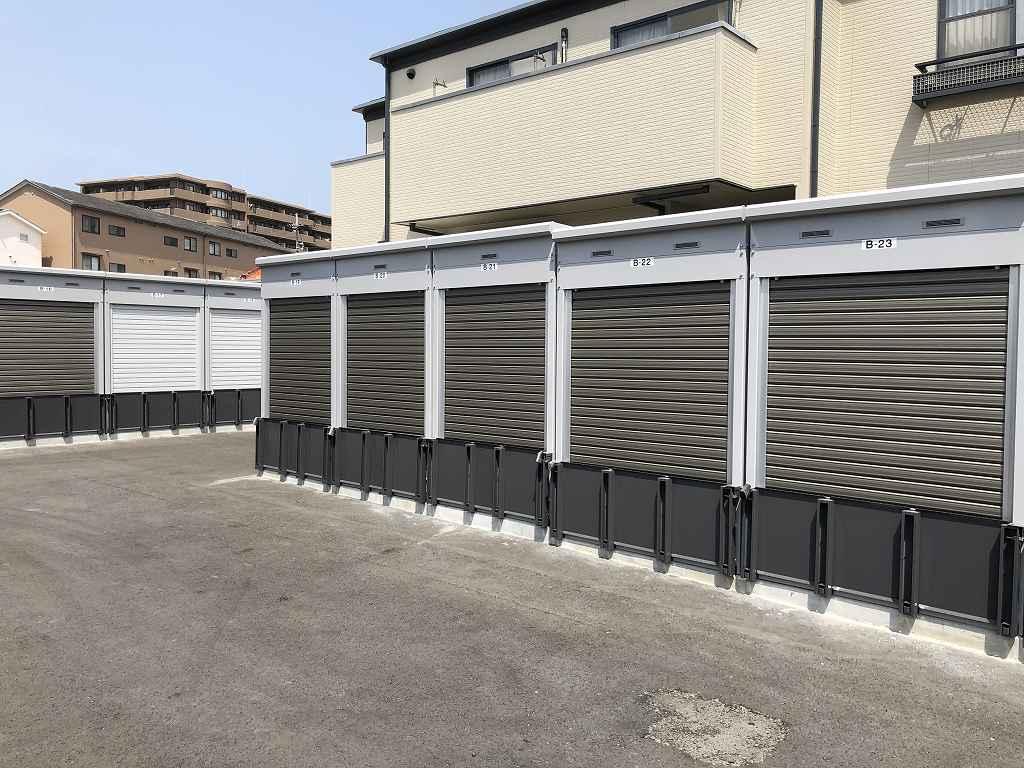 ユアスペース豊中市熊野町Ⅱ-バイク駐車場の物件外観