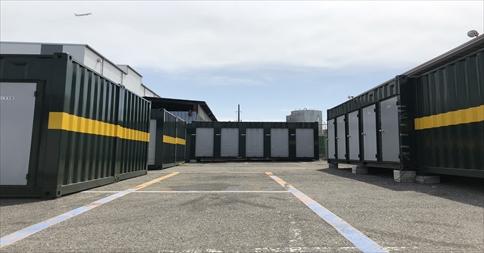 ユアスペース大森南Ⅲ-バイク駐車場の物件外観