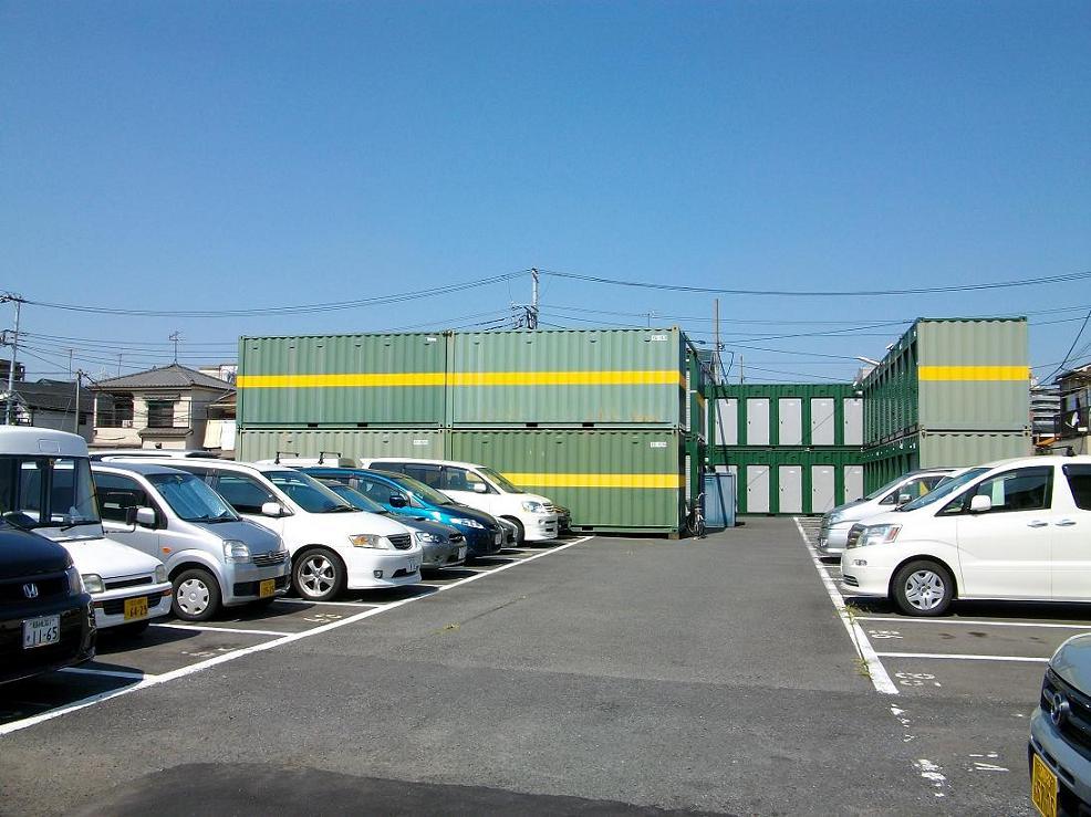 ユアスペース宇喜田-バイク駐車場の物件外観