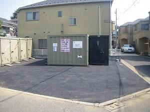 バイクストレージ西東京市田無町P1の物件外観