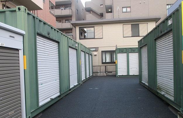 ユアスペース江戸川篠崎-バイク駐車場の物件外観