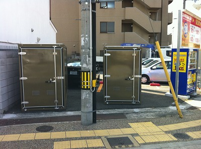 バイクパーク吹田駅東口の物件外観