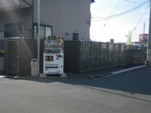 バイクストレージ西東京市芝久保の物件外観